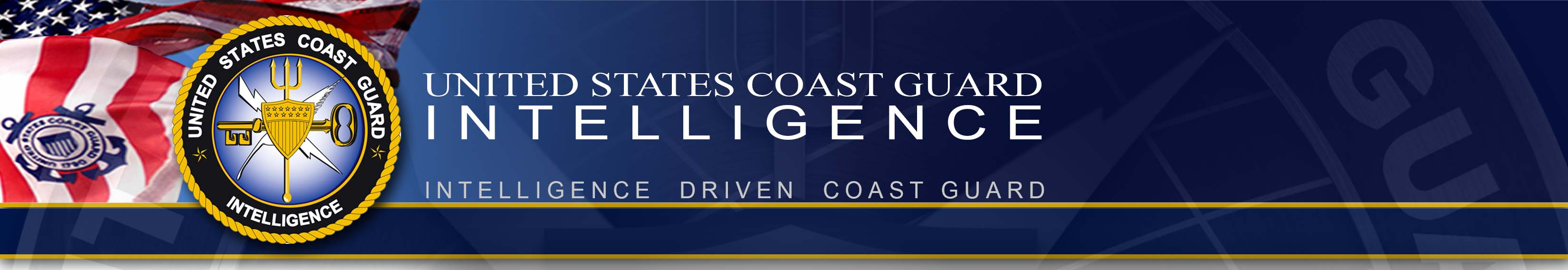 Coast Guard Intelligence Banner