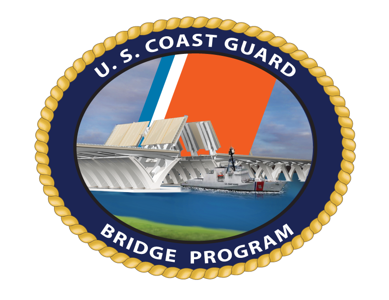 US Coast Guard bridge program Logo