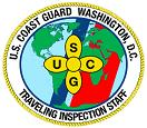 Traveling inspection staff logo