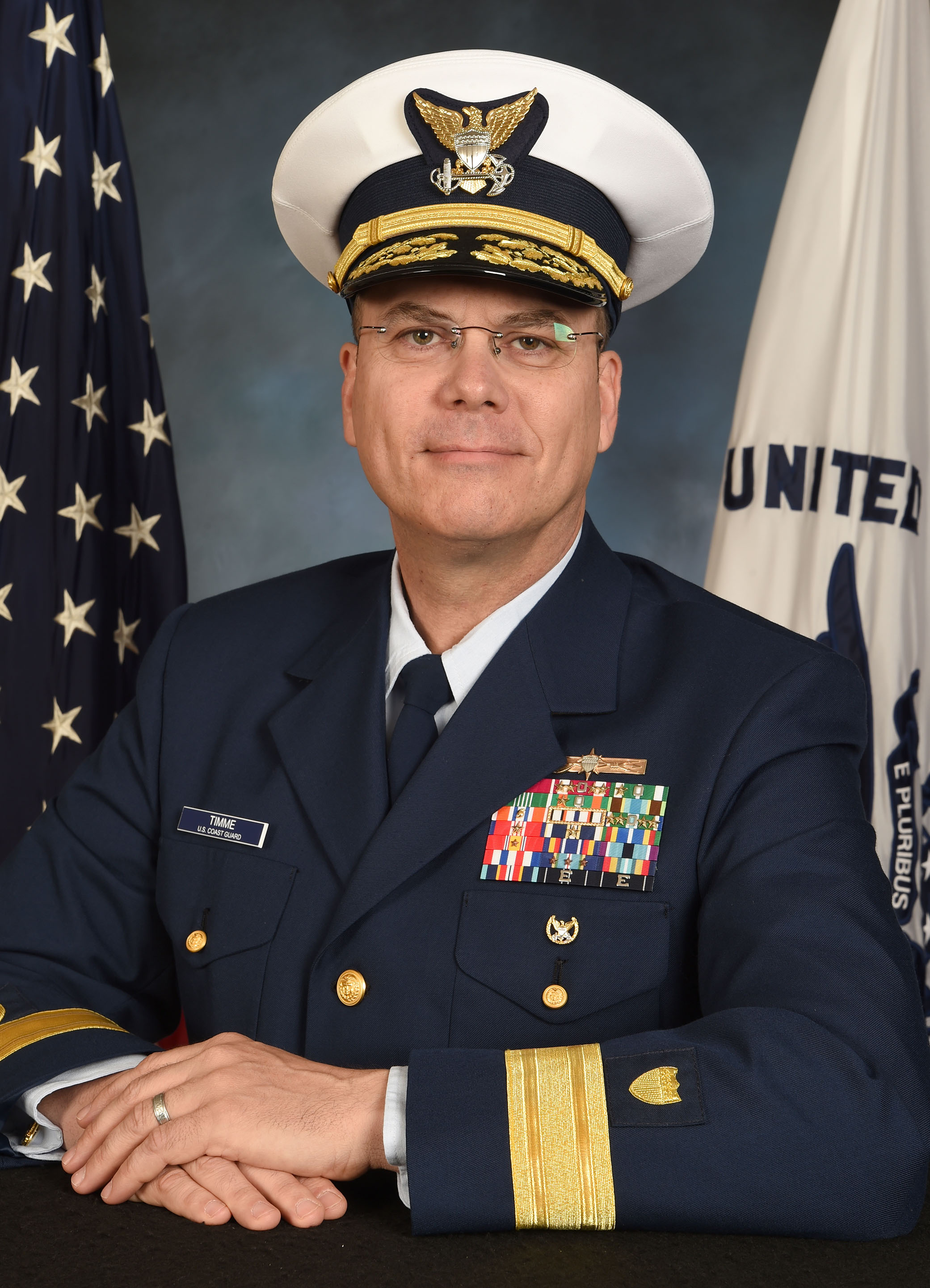 Rear Admiral Richard V. Timme